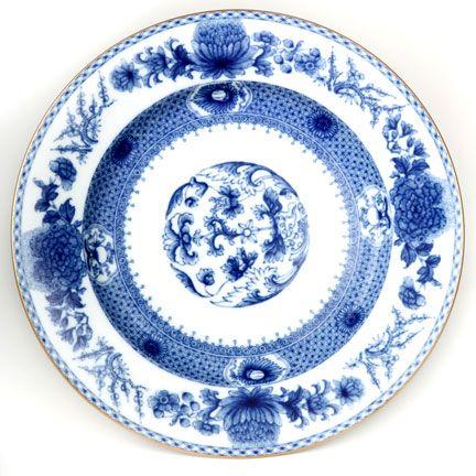 Mottahedeh Imperial Blue Dinnerware | Gracious Style  sc 1 st  Pinterest & Mottahedeh Imperial Blue Dinnerware | Gracious Style | The art of ...