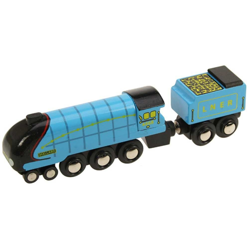 Bigjigs Wooden Railway Mallard Train £9.99   Wooden toys ... Mallard Train Toy