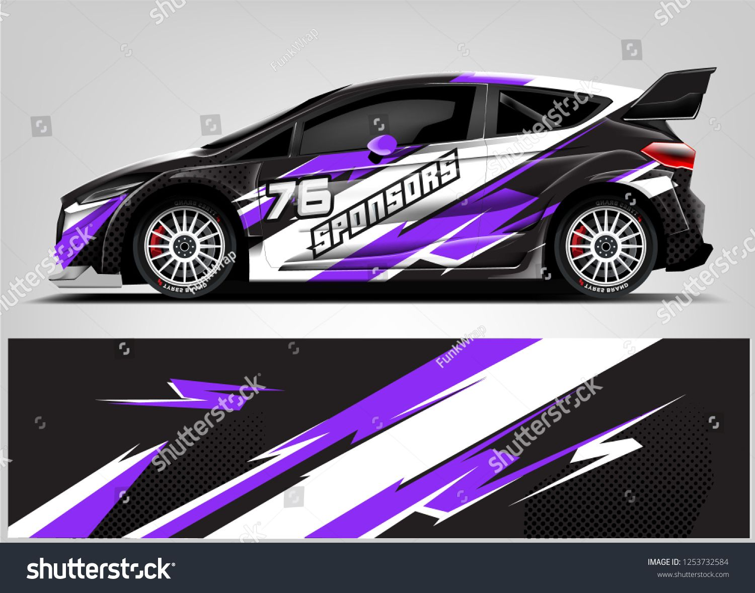 Car Decal Sticker Wrap Design Vector Graphic Abstract Stripe Racing Background Kit Designs For Vehicle Race Car Ral Spon Car Decals Stickers Car Car Decals [ 1179 x 1500 Pixel ]