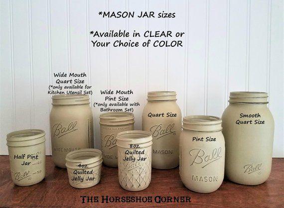 mason jars add on mason jars mason jar decor painted. Black Bedroom Furniture Sets. Home Design Ideas