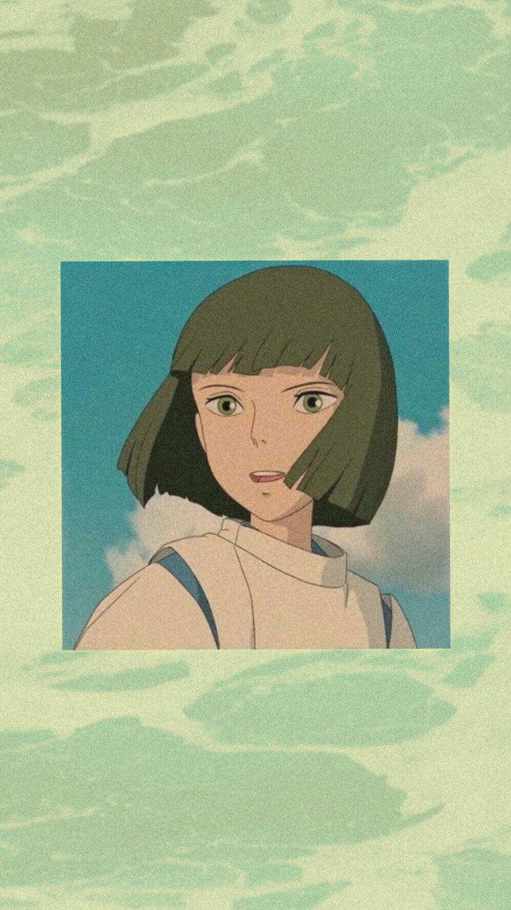 Aesthetic Wallpaper Haku Spirited Away Wallpaper Ghibli Artwork Cowboy Bebop Anime