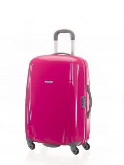 Cute Suitcases. Hard shell pink | Pink Possessions | Pinterest ...