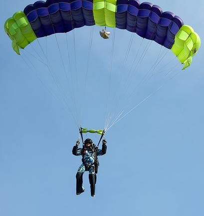 Go Parachuting Someday Bucket List Skydiving