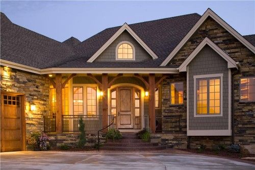Home Exterior Photograph For These Luxury House Plans. Images