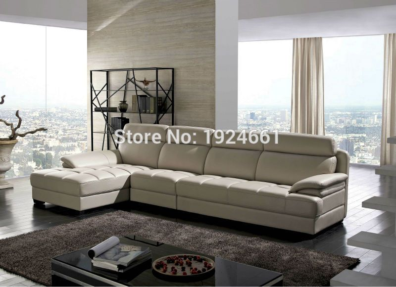 Armchair Chaise Sectional Sofa No Hot Sale Set Real Modern Italian Style Leather Corner Sofas For Living Room Furniture Sets Corner Sofa Living Room Leather Corner Sofa Living Room Sofa