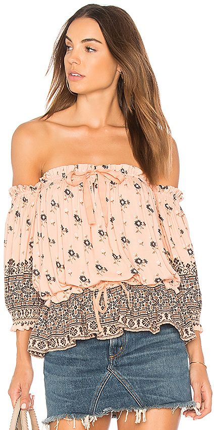 8ea267a5304e9 Spell   The Gypsy Collective Lionheart Off Shoulder Top