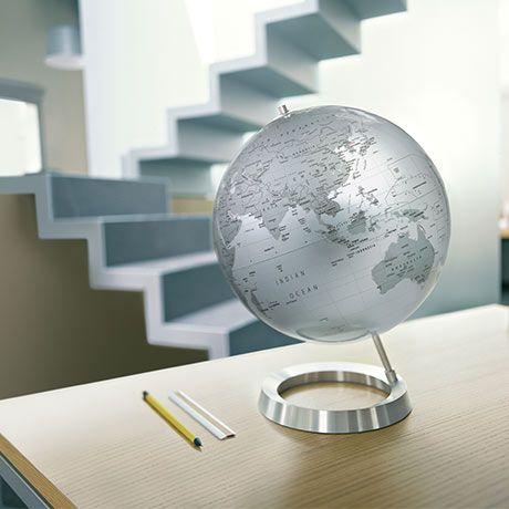 MONOQI   Table Globe Silver   Modern lamp, Globe, Design