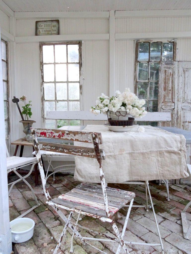 pin von brookielynn's bungalow auf farmhouse decor | pinterest, Gartengerate ideen
