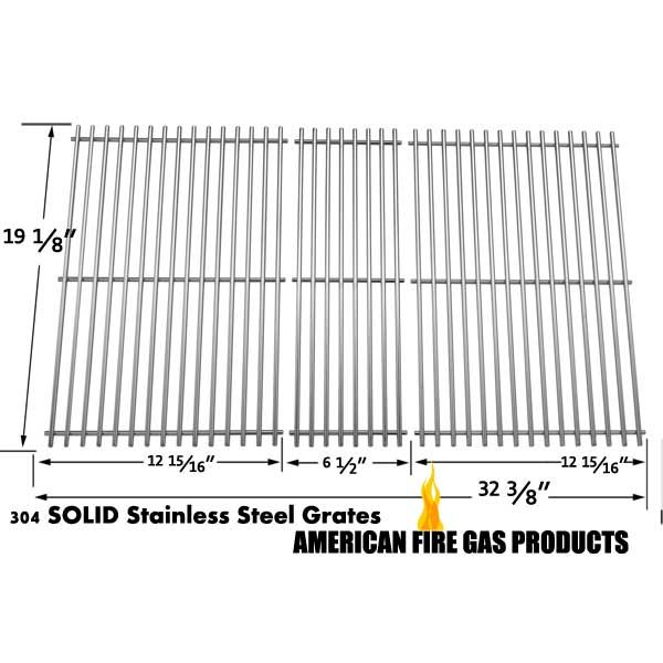 3 Pack Stainless Steel Replacement Cooking Grid For Patio Range Members Mark Kenmore Gas Grill Models Fits Compatible Mo Bbq Accessories Grilling Grill Parts