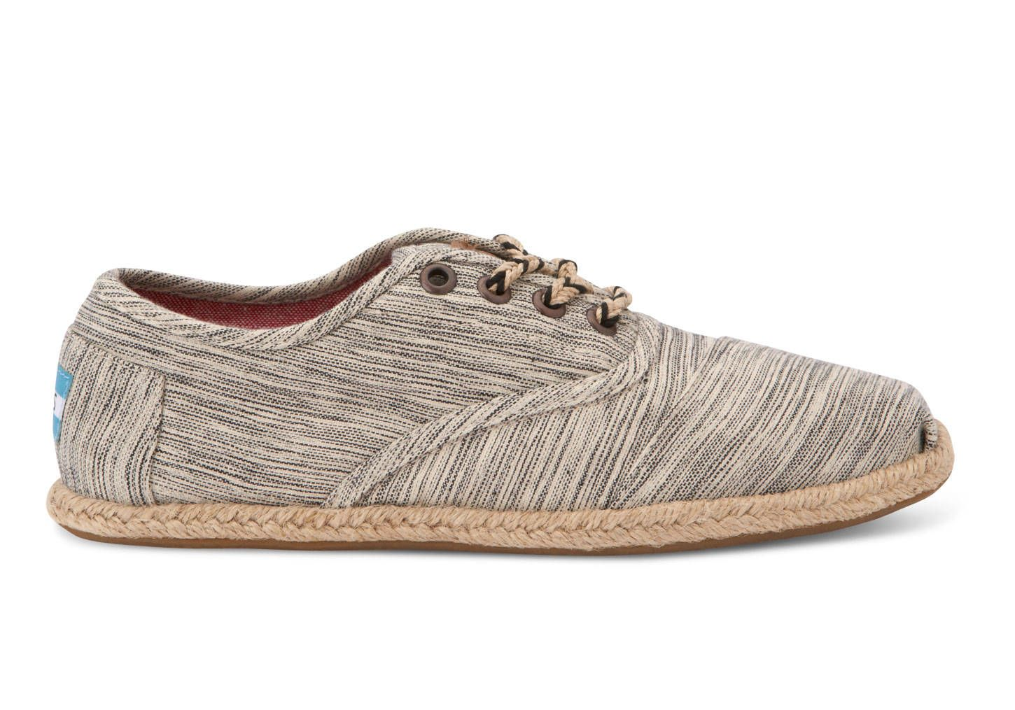 Grey Space-Dyed Space Dyed Women's Cordones