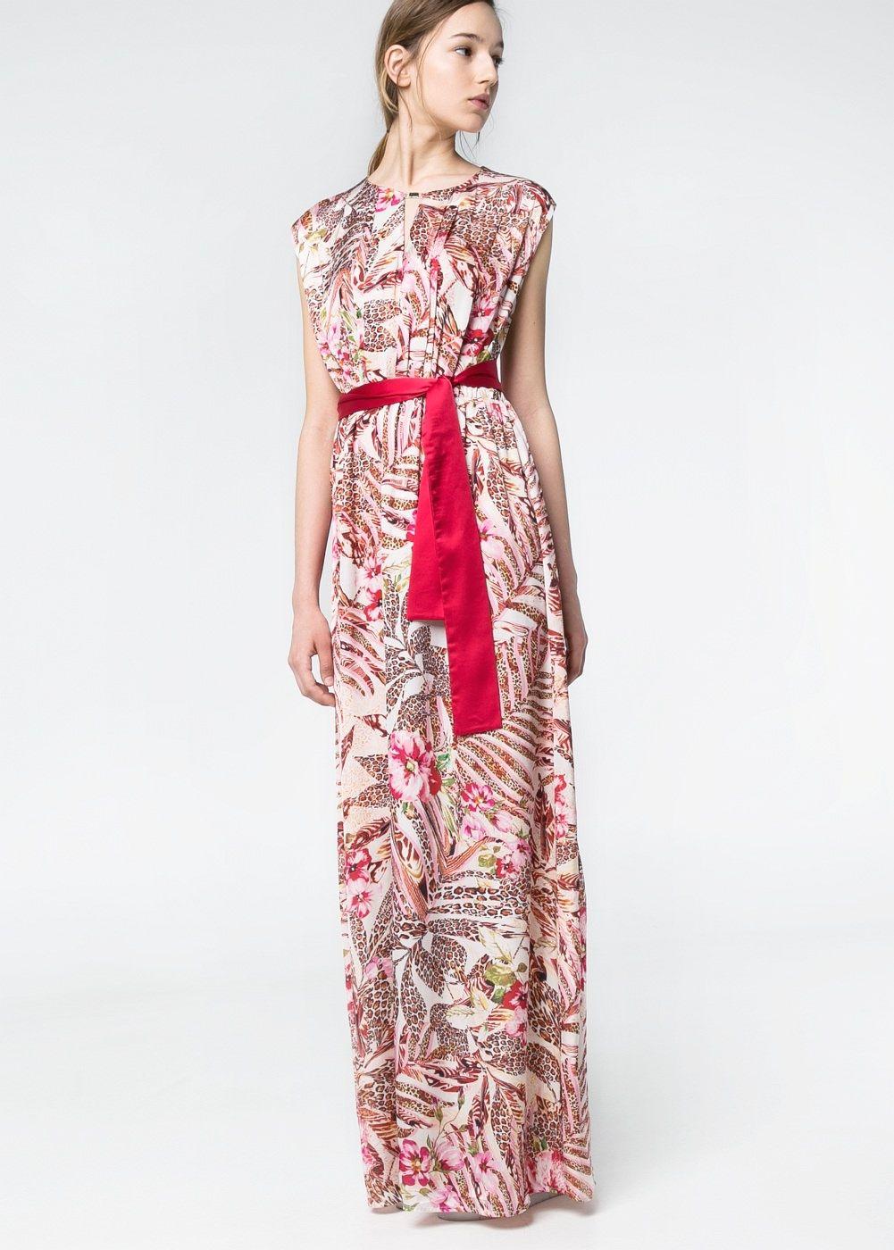 Vestido estampados combinados - Mujer | Moda | Pinterest | Estampado ...