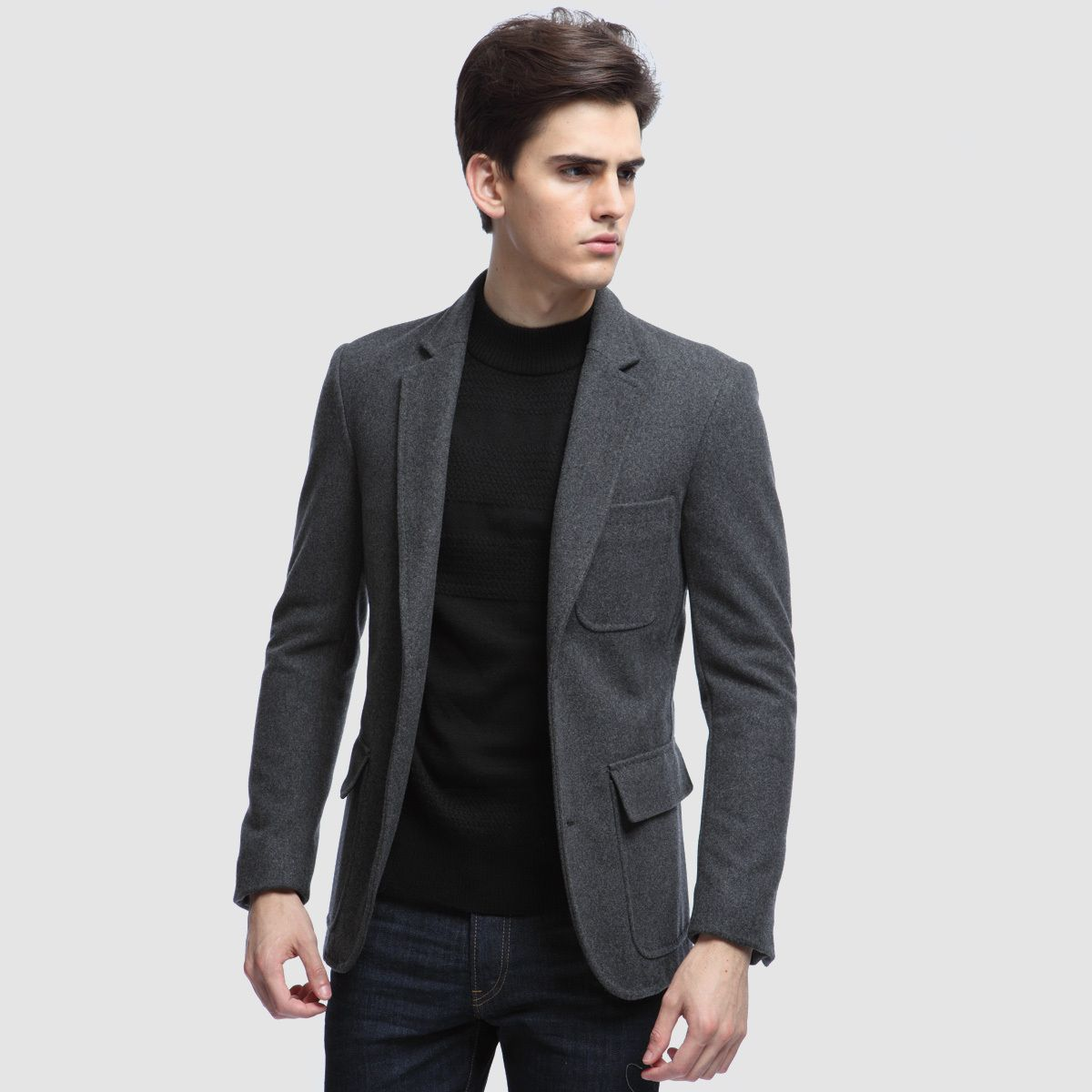 Max Toney spring clothing men's jackets men's wool suit vintage ...