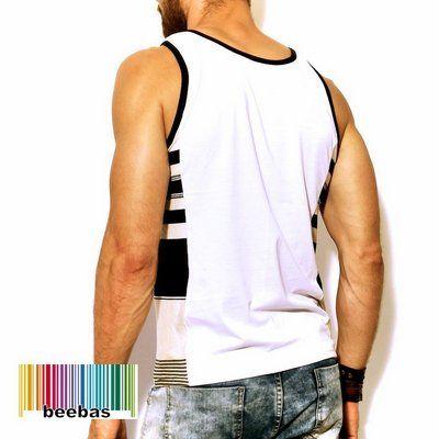 Camisetas regatas masculinas estilosas 2fe3a021262ef