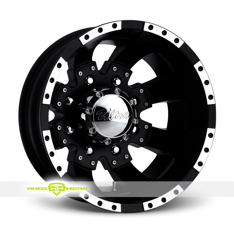 Ultra 23 Goliath Dually Rear Black Wheels For Sale For More Info Http Www Wheelhero Com Customwheels Ultra 23 Goliat Ultra Wheels Wheel Rims Custom Wheels