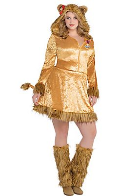 0cd181a1d Adult Cowardly Lion Costume Plus Size - The Wizard of Oz | Halloween ...