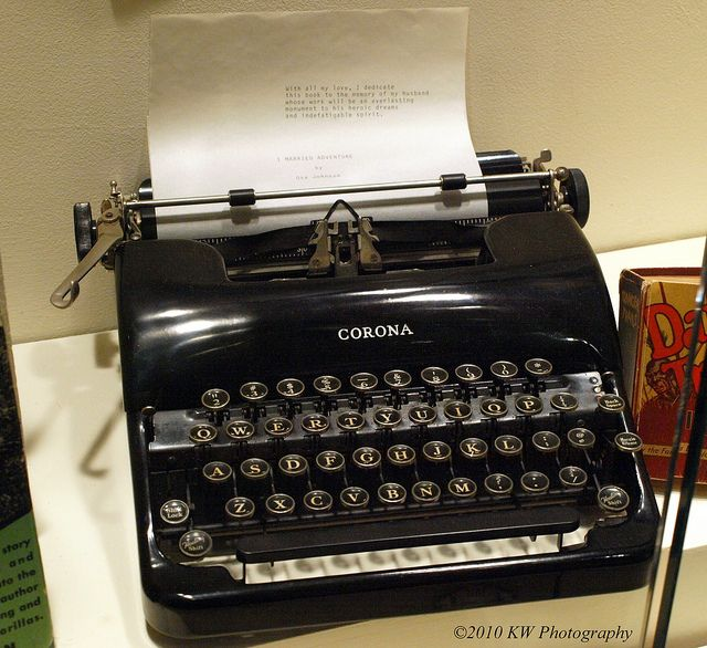 Typewriter by kawwsu29, via Flickr