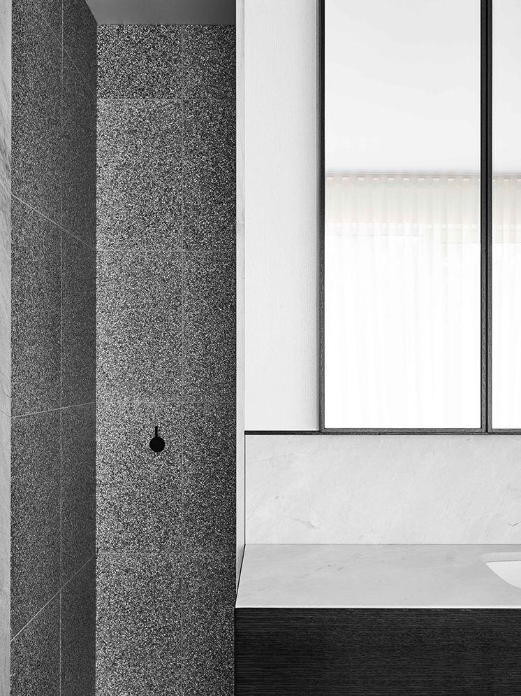 Bathroom Renovations Bendigo flack studio | terrazzo, stone tiles and walls