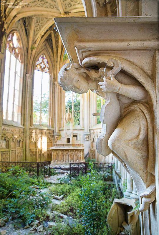 La Chapelle de L'ange au Violon - Quentin Chabrot U-derzho Photographe
