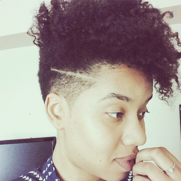 Jouelzy Natural Tapered CutTapered HairstylesTapered