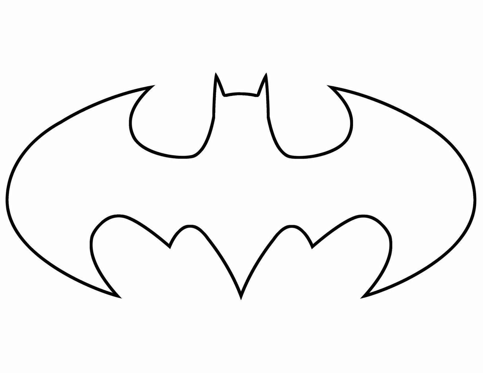 Spiderman Symbol Coloring Pages Images Batman Para Colorear