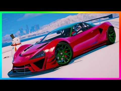 Awesome GTA ONLINE DLC SNOW GONE LEAVING NEW HIDDEN SUPER CARS - Cool cars gta online