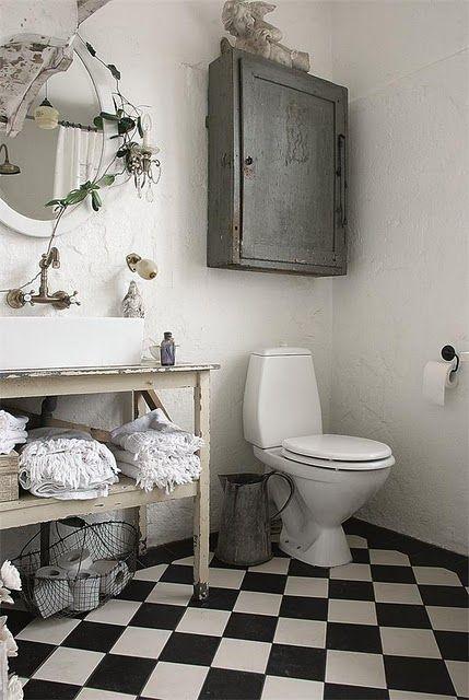 L\'Armoire de Camille | Cheminées | Pinterest | Baños, Baño y Muebles ...