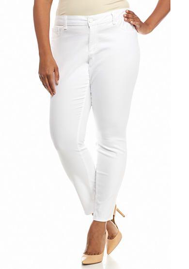 aac3b1a73a Jessica Simpson Plus Size Kiss Me Super Skinny Pants