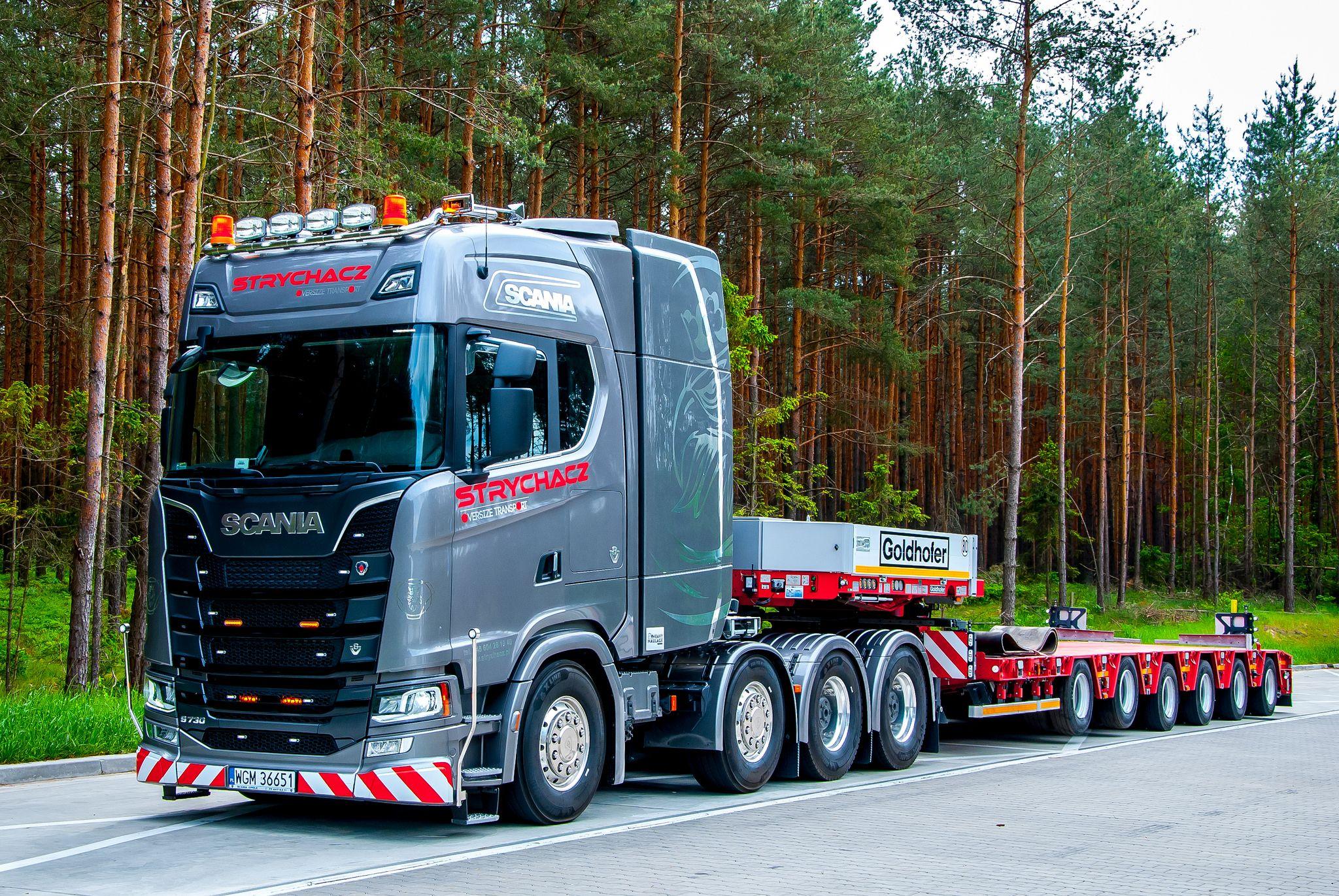 World's first Nextgen Scania S730 8x4 - Strychacz | SCANIA