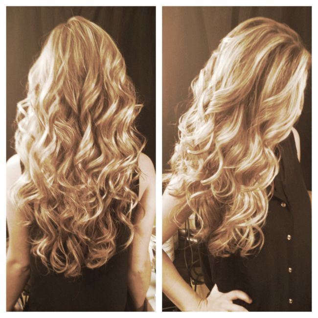 how to make big curls with curling iron