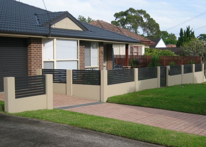 Residential Project Gallery | Front fence, Modular walls ...