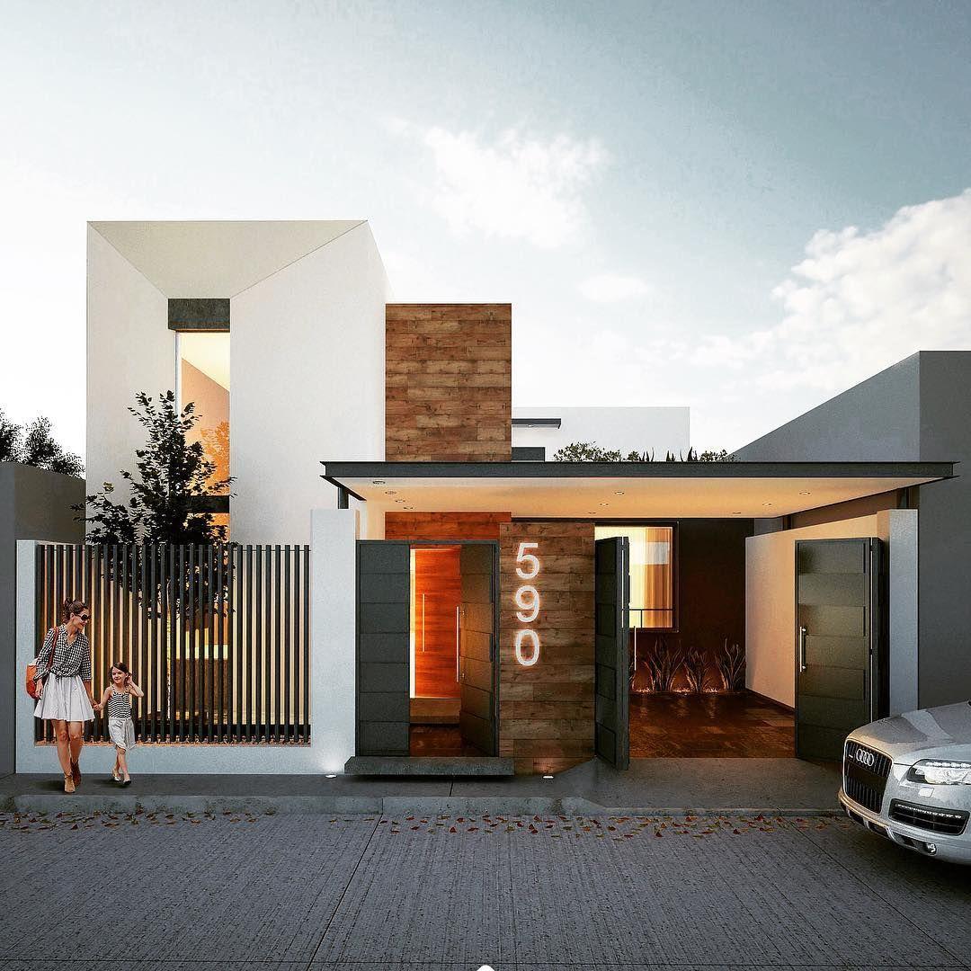 Proyecto casa tma fachada exterior project diseño detalles
