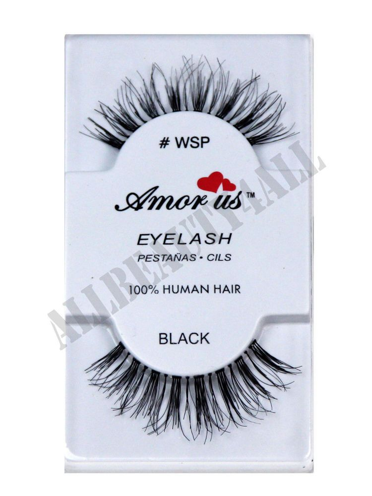 5f8326e4771 AmorUs 100% Human Hair False Eyelashes #WSP (pack of 6 pairs) compare Red  Cherry | Health & Beauty, Makeup, Eyes | eBay!
