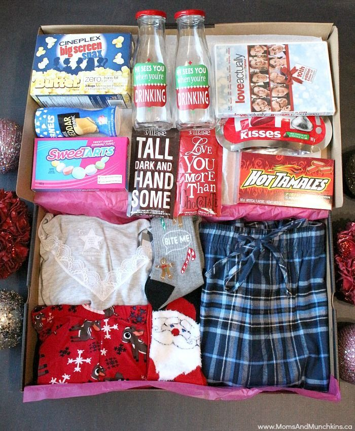 Couples Christmas Gift Ideas: Date Night Before Christmas Box
