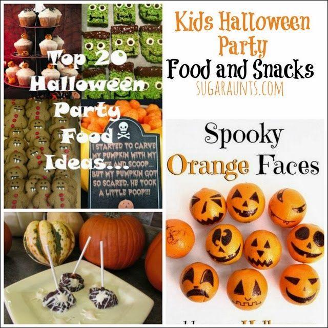 Kid Friendly Halloween Party Ideas Halloween parties, Halloween - kids halloween party ideas