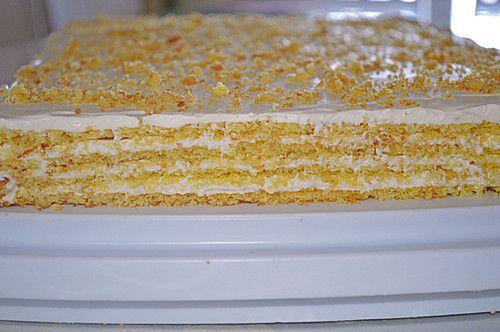 Schichtkuchen Mit Sahne Milchmadchen Fullung Von Leeni2507 Chefkoch Rezept Kuchen Und Torten Rezepte Schichtkuchen Kondensmilch Kuchen