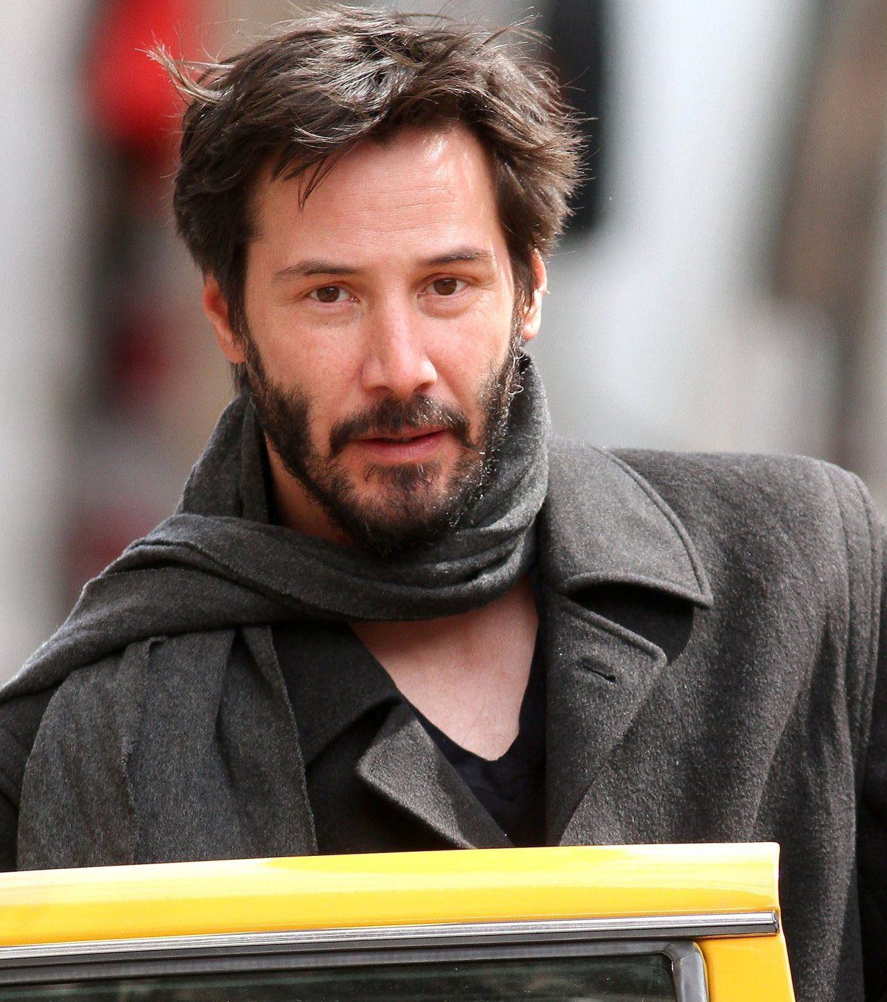 """angelofberlin2000: """" Keanu in NYC 2010, March 26 """" The Little Prince, all grown up…"""
