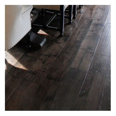 Maple 1 2 Thick X 7 1 2 Wide X Varying Length Engineered Hardwood Flooring Wood Floors Wide Plank Hardwood Maple Hardwood Floors