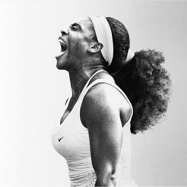 #SerenaWilliams is on a roll... #regram from @okayplayer