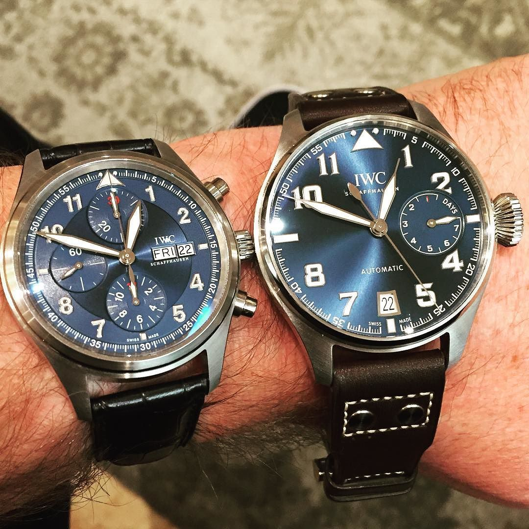 big xviii previous watches s the exception piece iwc pilot mark of similar with material case new starting fairly icw is heritage pilots to watch