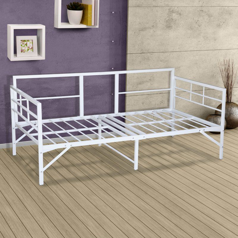 Searching For Mcintosh Easy Set Up Metal Daybed Frame By Ebern