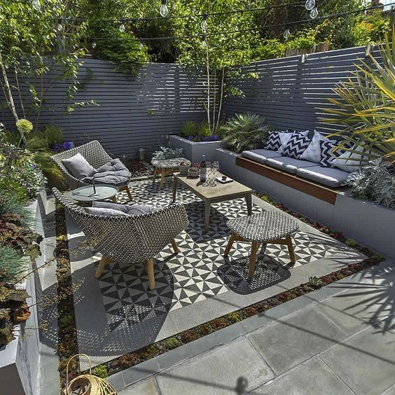 Top 2019 Outdoor Patio Ideas Uk For 2019 Small Courtyard Gardens Courtyard Gardens Design Patio Design