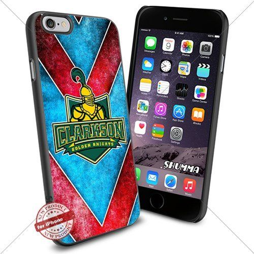 "NCAA-Clarkson Golden Knights,iPhone 6 4.7"" Case Cover Protector for iPhone 6 TPU Rubber Case Black SHUMMA http://www.amazon.com/dp/B0154O9VA6/ref=cm_sw_r_pi_dp_gaLKwb1QMZDA8"