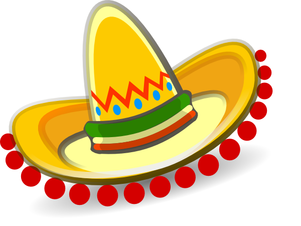 Sombrero Mexican Hat Clip Art Mexican Hat Free Clip Art Mexican Party Theme