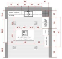 8 Planos De Casas Modernas With Images Kitchen Plans How To Plan Kitchen Furniture