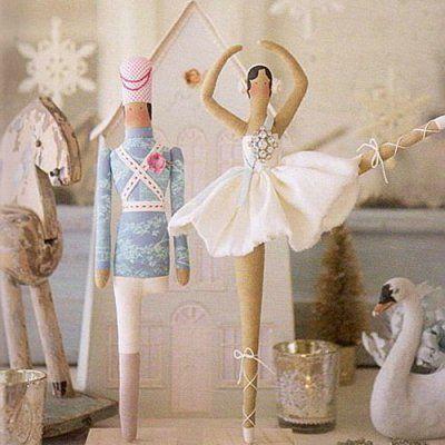 Тильда балерина и оловянный солдатик