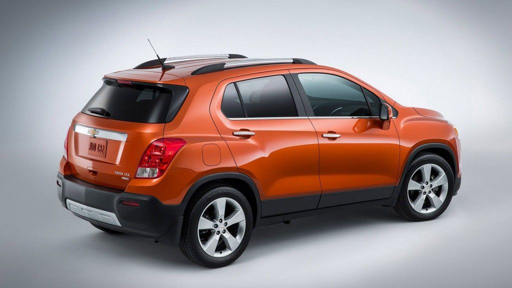2015 trax small suv exterior pictures chevrolet