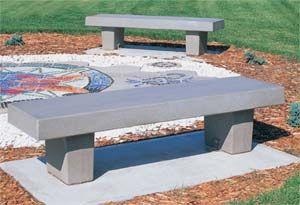 Classic Precast Concrete Park Bench Diy Diy Picnic Table