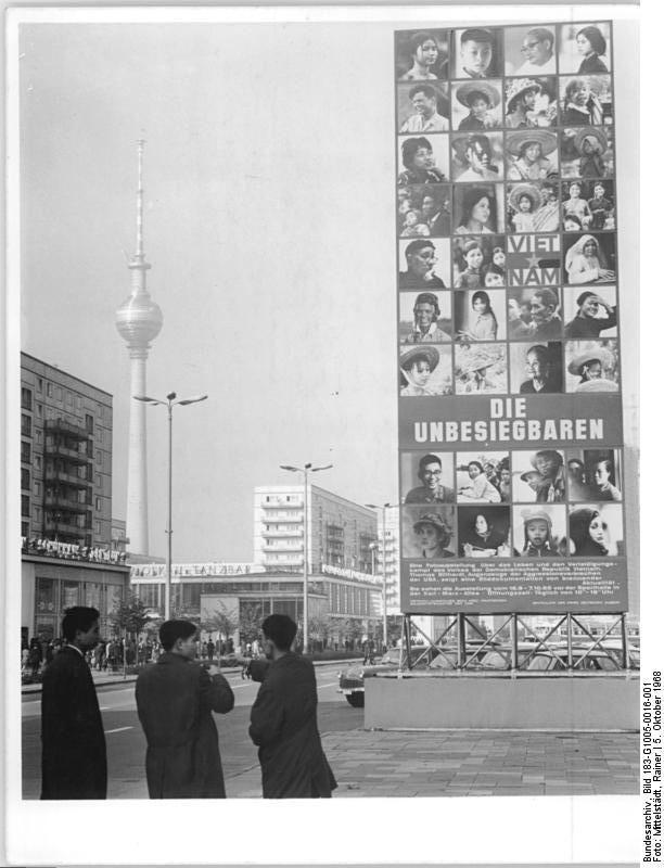 Karl-Marx-Allee October 1968