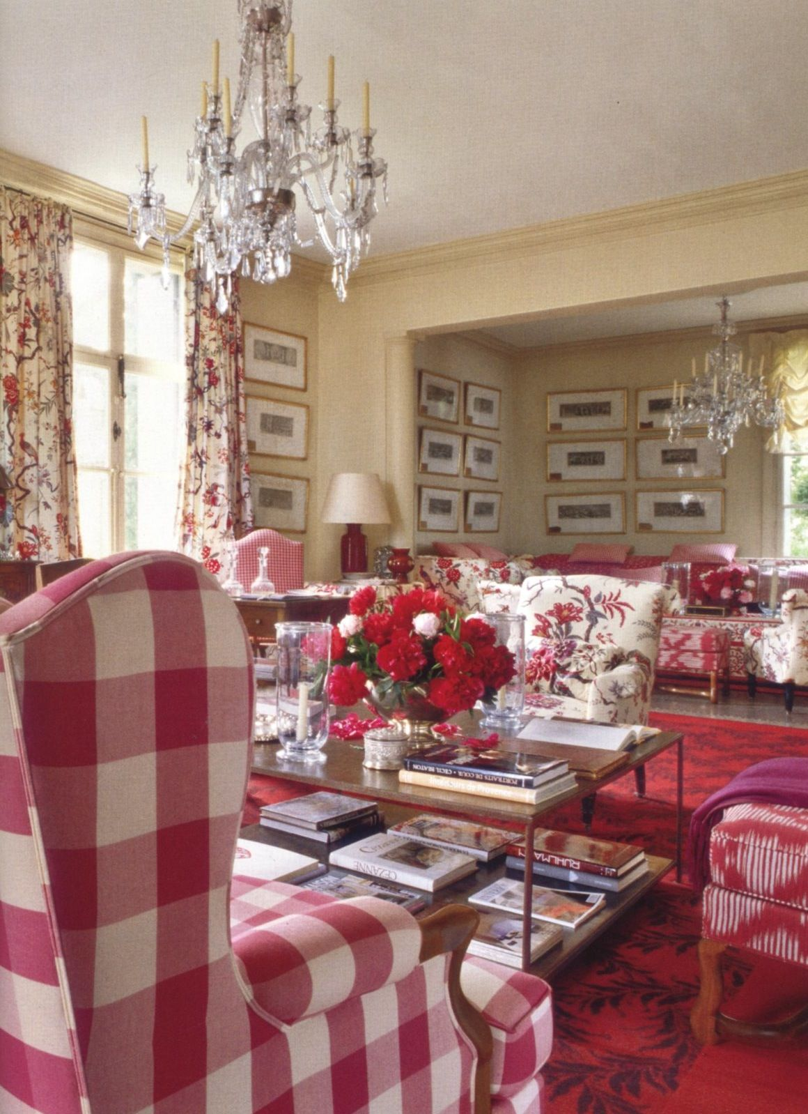 Best Red Hot Country Living Room French Country Living Room 400 x 300