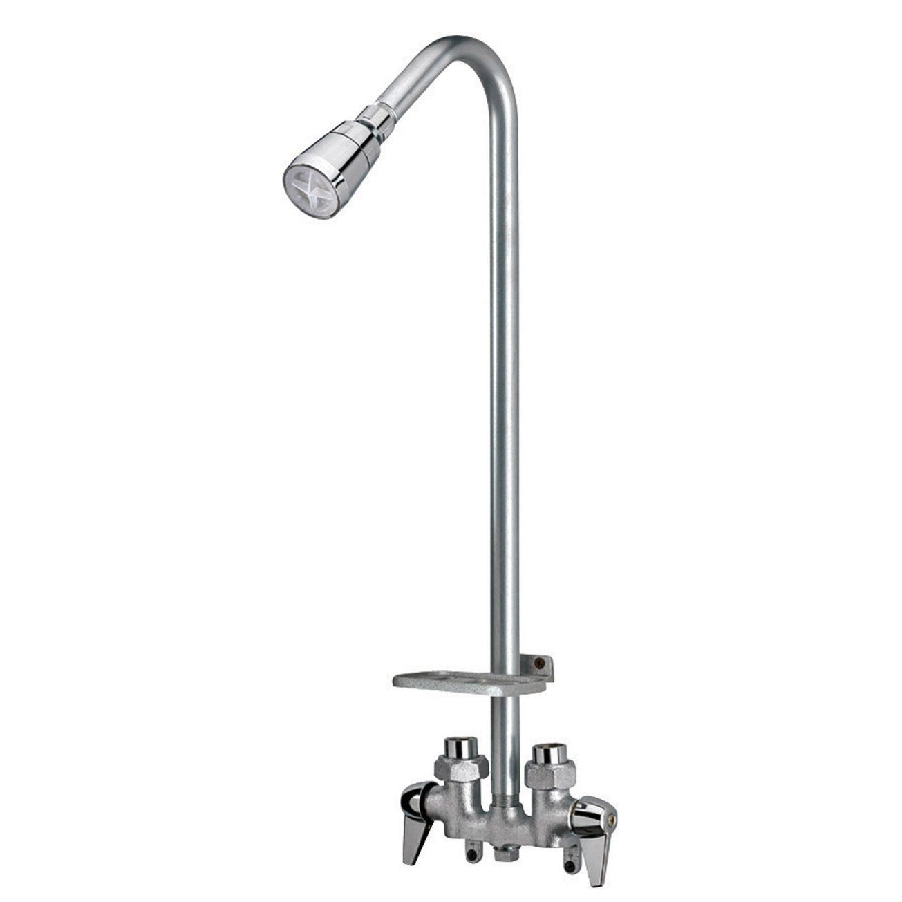 HOMEWERKS WORLDWIDE 3070-250-CH-B Base Utility Shower Faucet ...